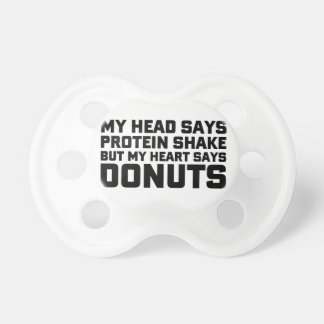 Protein Shake or Donuts Dummy