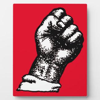 protest fist plaques