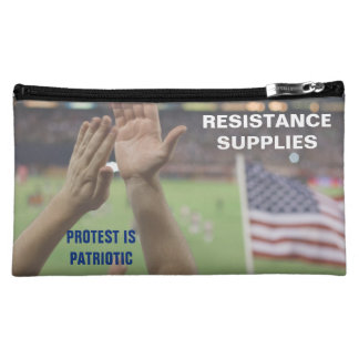 Protest Is Patriotic Resistance Supply Bag Makeup Bags