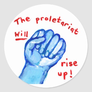 Protest raised fist empowerment ows occupy wall st sticker