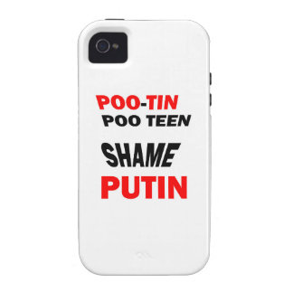 """PROTEST Russian Putin""""s actions: Support FREEDOM Vibe iPhone 4 Case"""