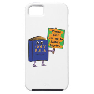 Protesting Bible iPhone 5 Cover