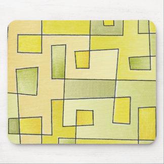 Proto Pattern Lemonade Mouse Pad