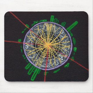 Proton Collisions at the LHC mousepad