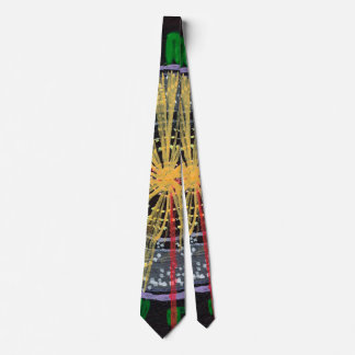 Proton Collisions at the LHC necktie