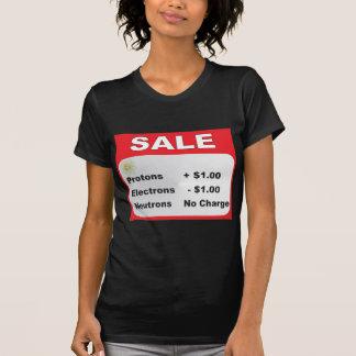 protons electrons neutrons sale tee shirts
