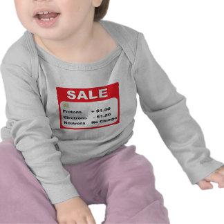 protons electrons neutrons sale tshirts