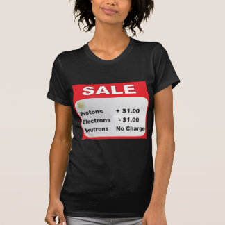 protons electrons neutrons sale tees