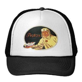 Protos - Vintage German Auto Advertisement Mesh Hat