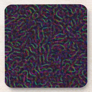 Protozoa Colorful Coaster