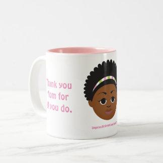 #Proud2BNaturalMe Gifts for #Mom Two-Tone Coffee Mug