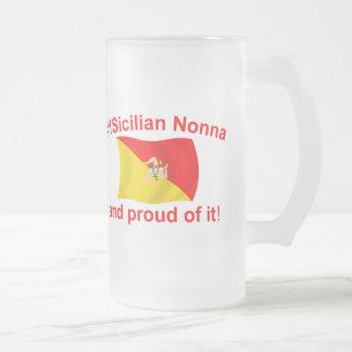 Proud 1 Sicilian Nonna Coffee Mugs
