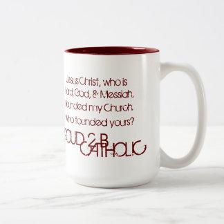 PROUD 2 B CATHOLIC - Mug Red