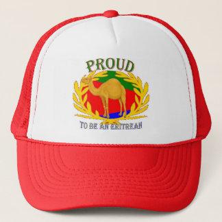 proud 2 be an eritrean trucker hat