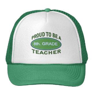 Proud 8th. Grade Teacher Cap