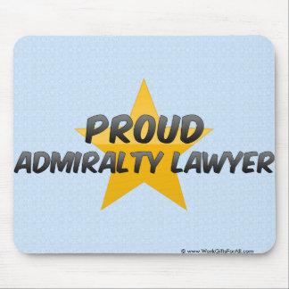 Proud Admiralty Lawyer Mousepad