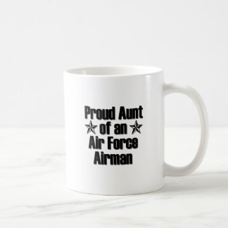 Proud Air Force Aunt Mugs
