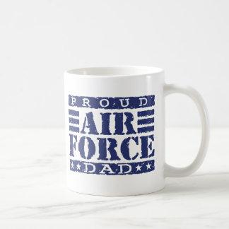 Proud Air force Dad Mugs