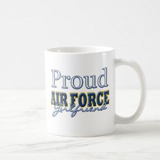 Proud Air Force Girlfriend Basic White Mug