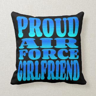 Proud Air Force Girlfriend Cushion
