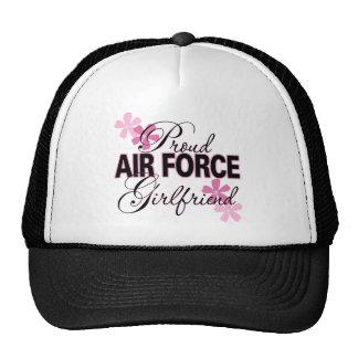 Proud Air Force Girlfriend Mesh Hats