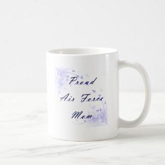 Proud Air Force Mom Coffee Mug