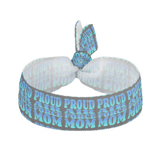Proud Air Force Mom Hair Tie
