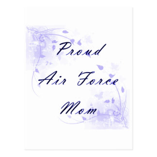 Proud Air Force Mom Postcard