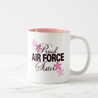 Proud Air Force Sister Coffee Mug