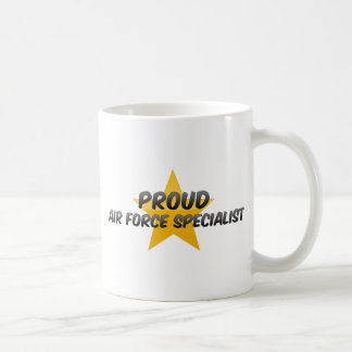 Proud Air Force Specialist Coffee Mugs