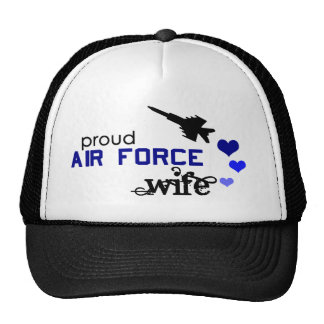 Proud Air Force Wife hat