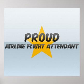 Proud Airline Flight Attendant Print