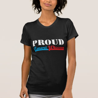 Proud Ameri-Wiccan Tshirt