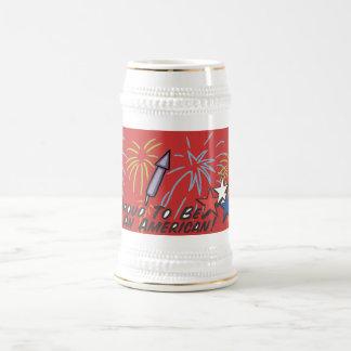 Proud American - Beer Stein