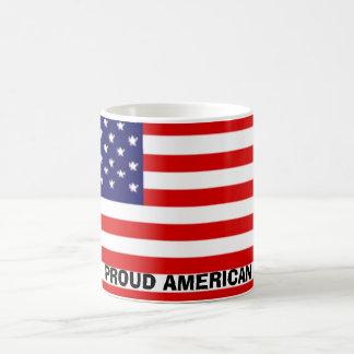 PROUD AMERICAN COFFEE MUG
