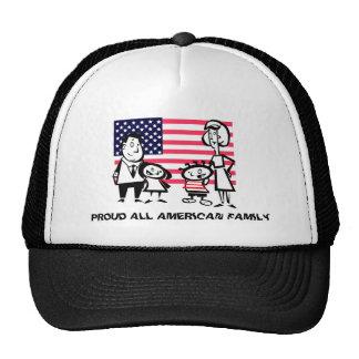 Proud American Family Mesh Hat