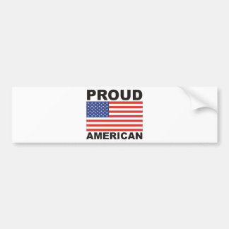 Proud American Flag Products! Bumper Sticker