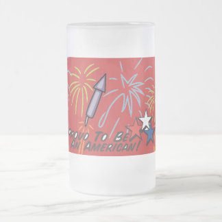 Proud American - Frosted Beer Mug