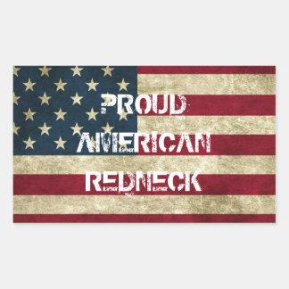 Proud American Redneck Sticker