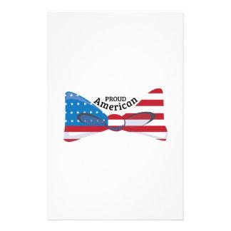 Proud American Custom Stationery