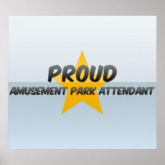 Proud Amusement Park Attendant Posters
