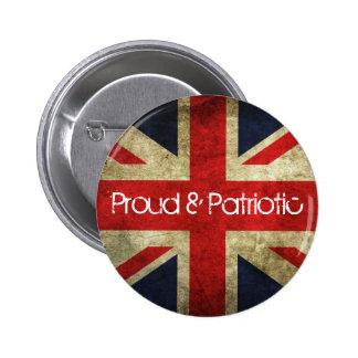 Proud and Patriotic Union Flag Badge