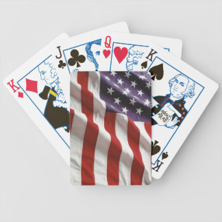 Proud and Patriotic USA Flag Card Deck Bicycle Playing Cards