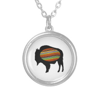 PROUD AND STRONG SILVER PLATED NECKLACE