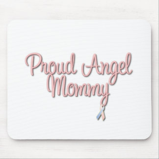 Proud Angel Mommy Mouse Pad