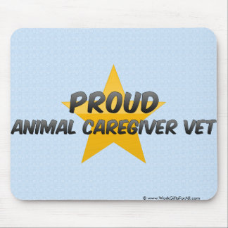 Proud Animal Caregiver Vet Mouse Pad