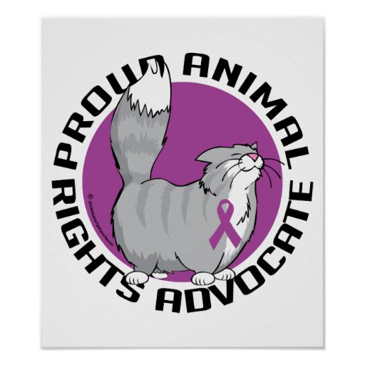 Proud Animal Rights Advocate Print