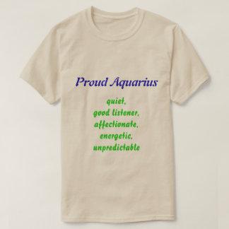 Proud Aquarius Tshirt