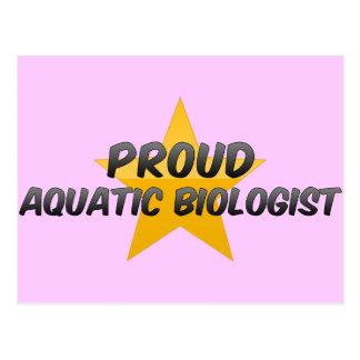 Proud Aquatic Biologist Postcards