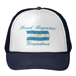 Proud Argentine Grandma Cap